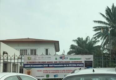 Colloque international Chambre de commerce Côte d'Ivoire & Iescci sur l'intelligence économique et innovation.jpg